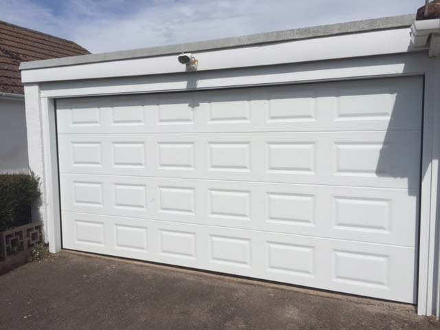 The SeceuroGlide Sectional garage door